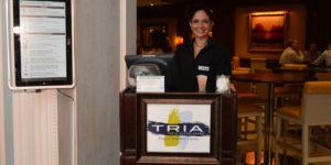 tria hostess stand