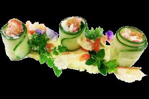 cucumber lobster rolls