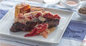 Ny Strip Steak & Lobster